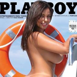 Fabiana Britto na playboy portugal